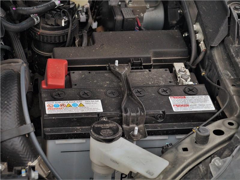 Toyota Hilux (2021) моторный отсек
