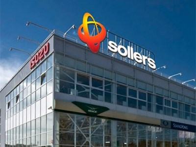 Продажи группы Sollers продолжают снижаться
