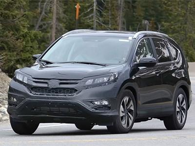 Обновленный кроссовер Honda CR-V появится в США через год