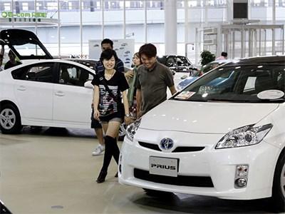 Японский авторынок снова растет