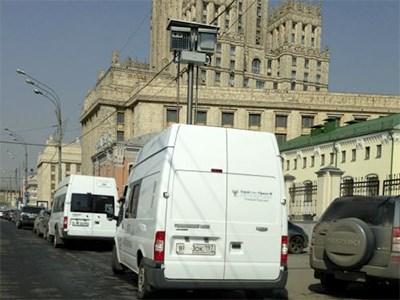 На улицах Москвы будут дежурить оснащенные камерами фургоны