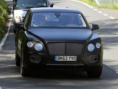 Первый внедорожник Bentley появится в 2016 году