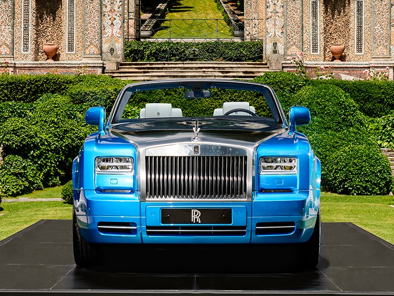 Rolls-Royce Phantom Drophead Coupe Waterspeed Collection 2014 вид спереди