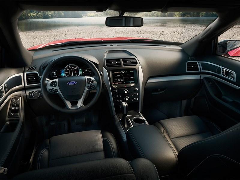 Ford Explorer 2015 салон