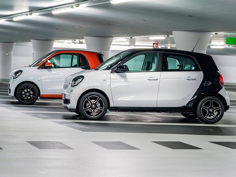 Smart Fortwo & Forfour 2015