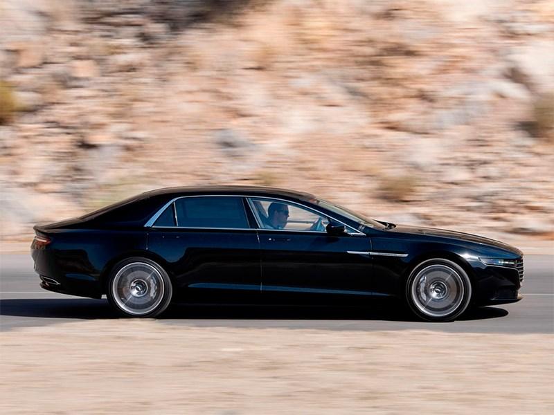 Aston Martin Lagonda 2015 вид сбоку