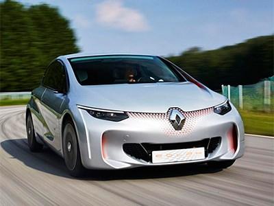 Французская компания Renault разработала сверхэкономичный гибридный автомобиль
