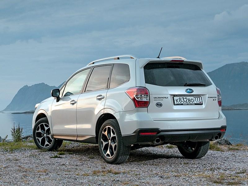 Subaru Forester 2013 вид сзади