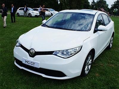 На китайский рынок выходит новый седан от британской компании MG