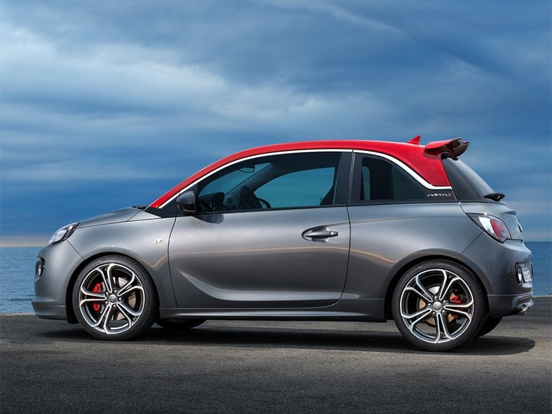 Opel Adam S 2014 вид сбоку