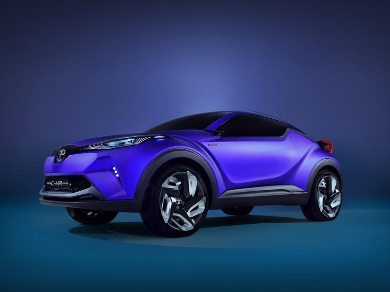 Toyota CH-R concept 2014 вид спереди сбоку