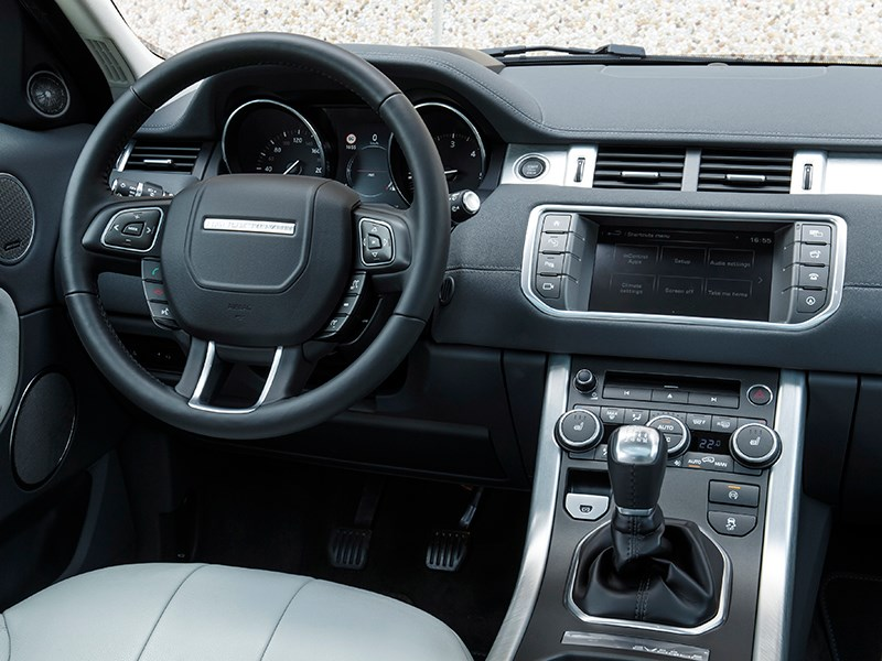 Land Rover Range Rover Evoque 2016 водительское место