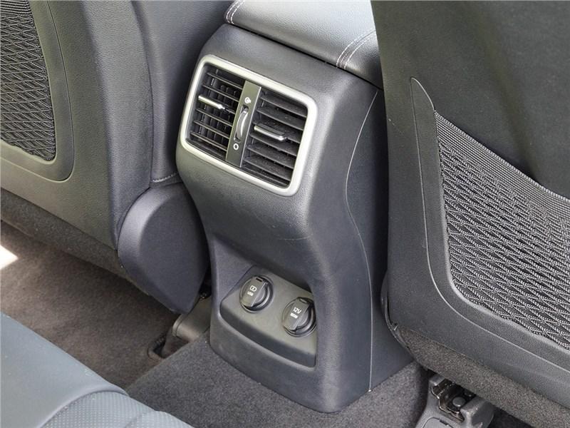 Kia Sportage 2016 дефлекторы системы вентиляции