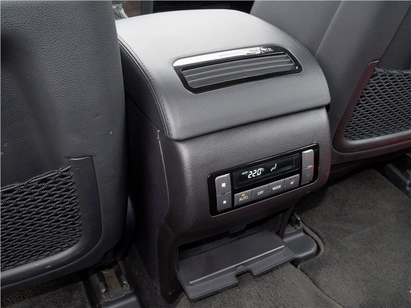 Haval H9 2014 климатическая установка для пассажиров