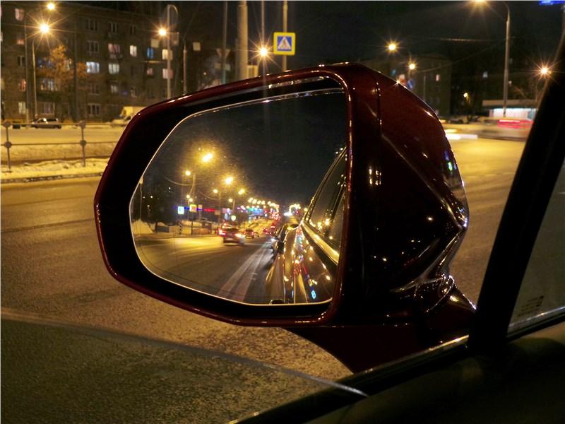 Cadillac XT5 2017 боковое зеркало