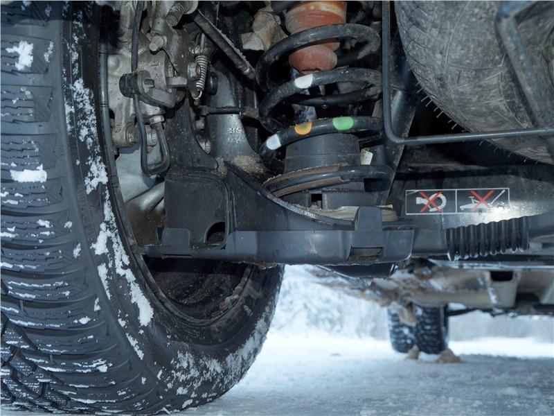Peugeot Partner Tepee 2016 задняя подвеска