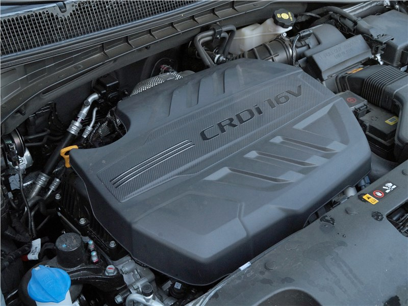 Kia Sorento Prime 2018 моторный отсек