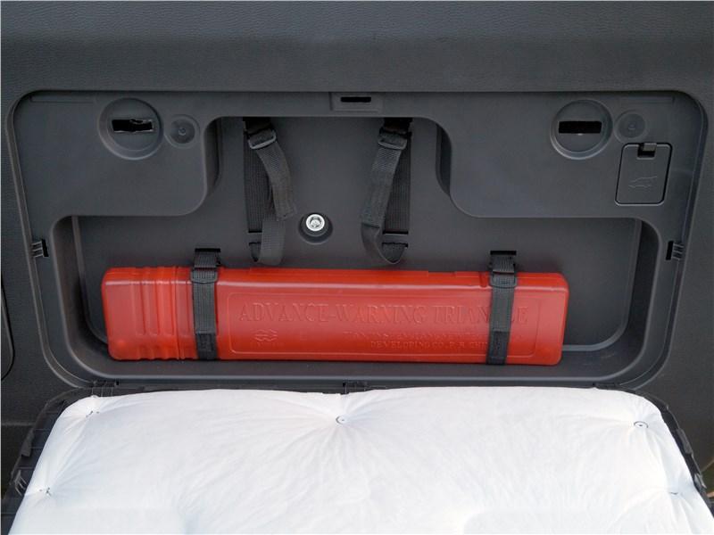 Haval H9 2017 багажное отделение