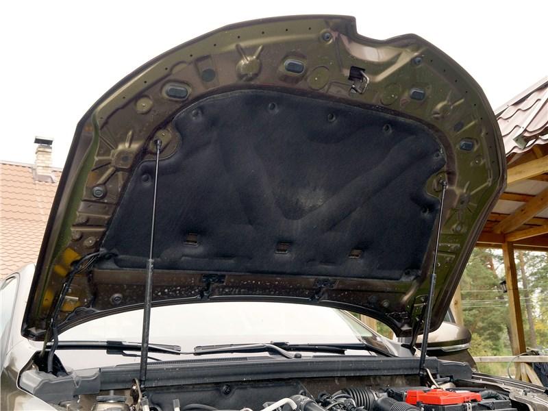 Renault Arkana 2020 капот