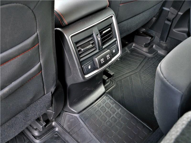 Subaru Forester Sport (2019) печка для второго ряда