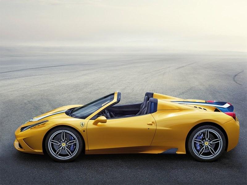 Ferrari 458 Speciale A 2014 вид сбоку
