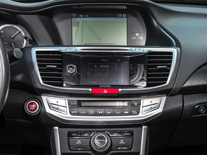 Honda Accord 2013 центральный тонель