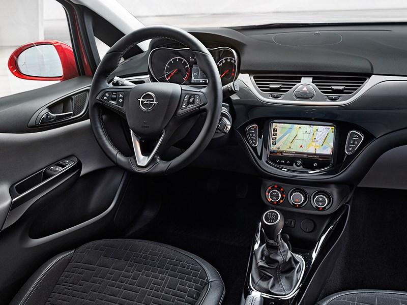 Opel Corsa 2015 водительское место