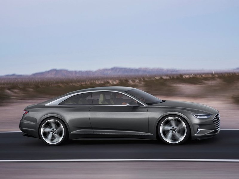 Audi Prologue concept 2015 вид сбоку