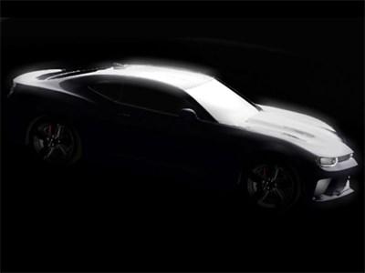 В США показали изображение нового Chevrolet Camaro