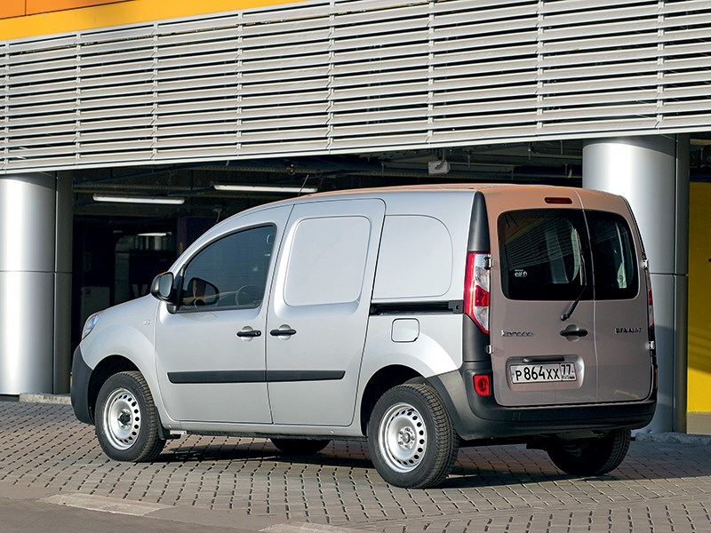 Renault Kangoo 2014 вид сзади