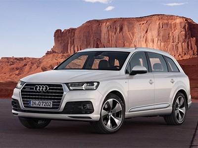 Обновленный Audi Q7 e-tron дебютирует в Женеве