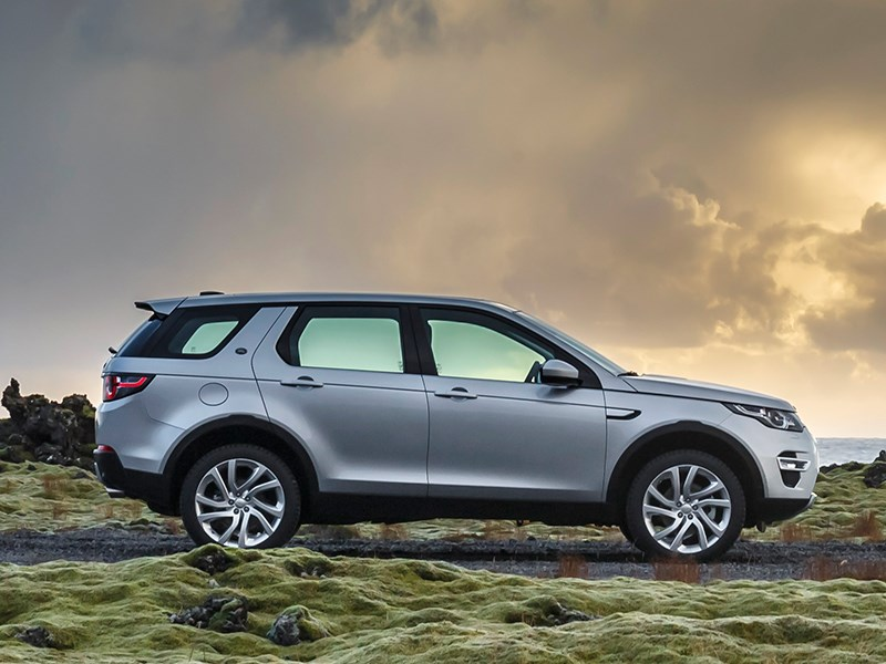Land Rover Discovery Sport 2015 вид сбоку
