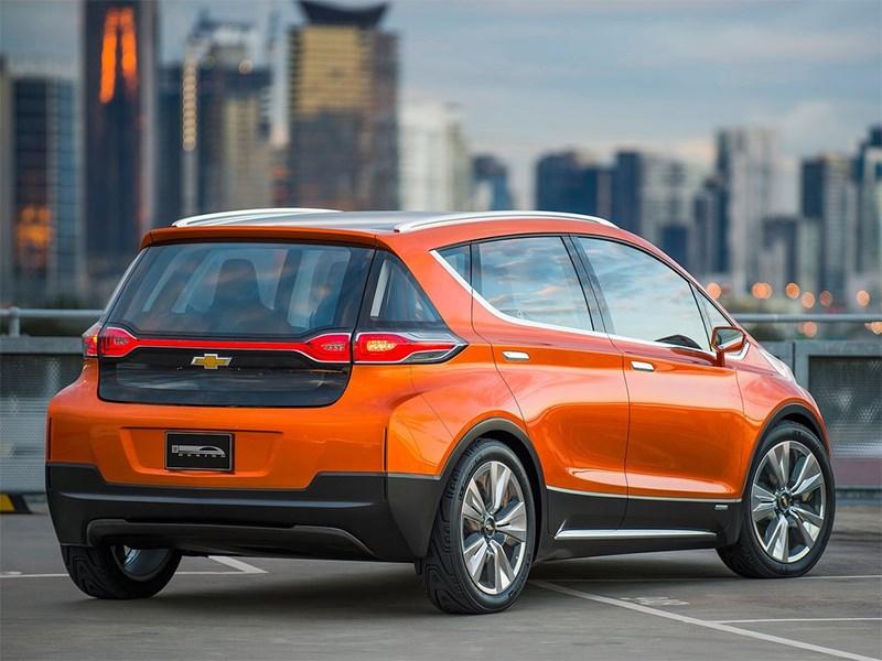 Chevrolet Bolt EV Concept 2015 вид сзади