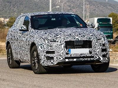 Кроссовер Jaguar F-Pace появится в сентябре на автошоу во Франкфурте