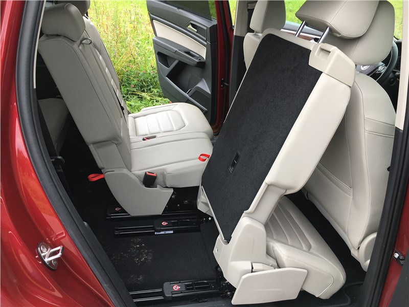 Volkswagen Teramont 2018 задний диван