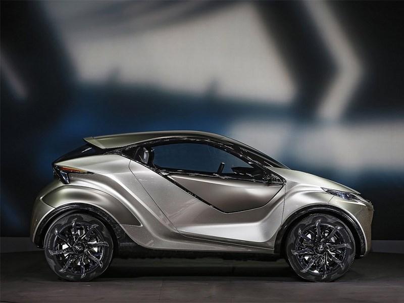 Lexus LF-SA Concept 2015 вид сбоку