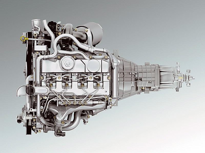 Ford Tranzit 2006 двигатель с коробкой передач фото 2