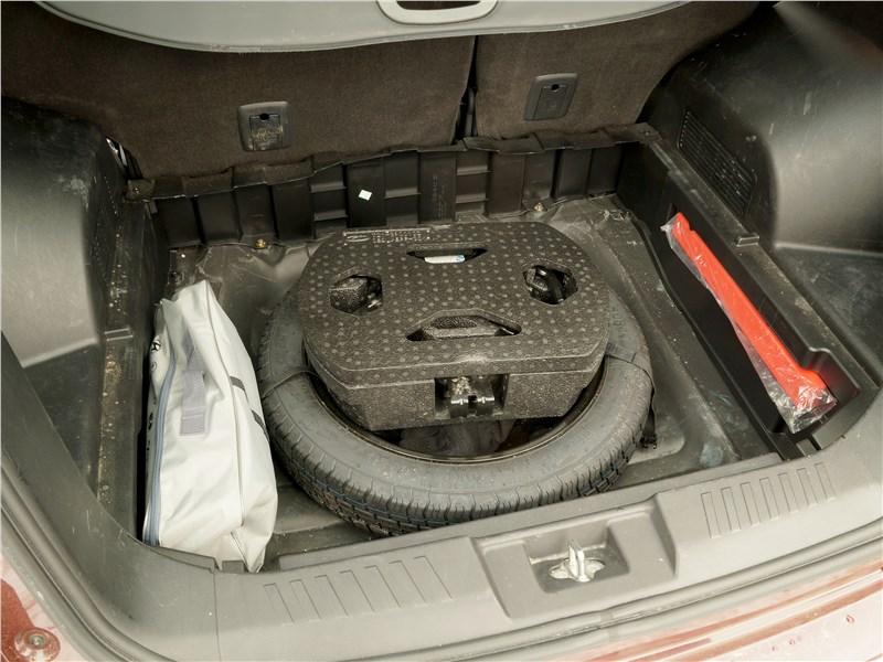 Chery Tiggo 5 2016 багажное отделение