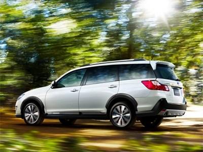 Внедорожный универсал Subaru Exiga – теперь и в семиместной версии