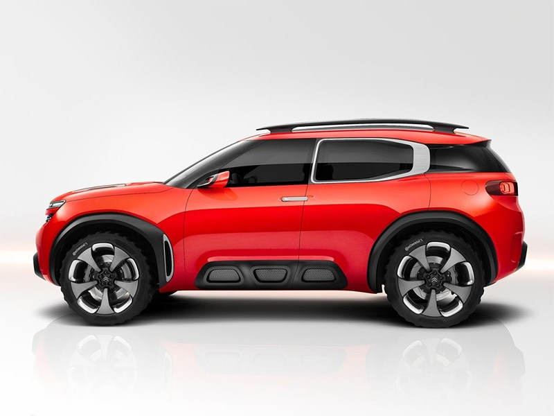 Citroen Aircross Concept 2015 вид сбоку