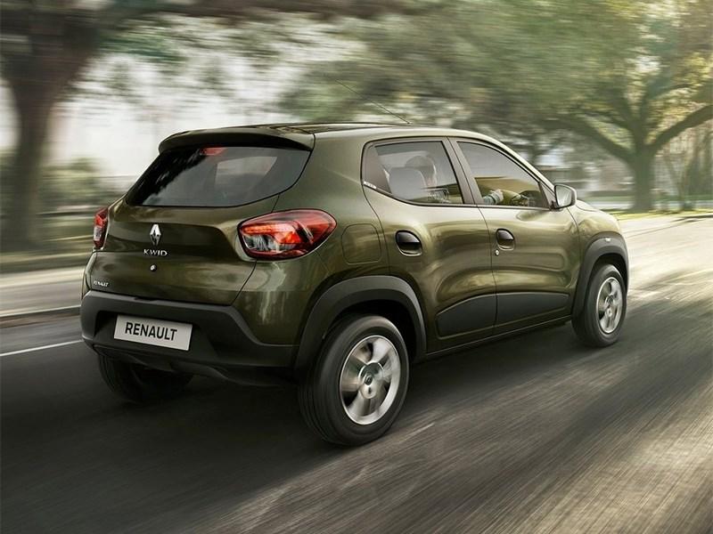 Renault Kwid 2016 вид сзади