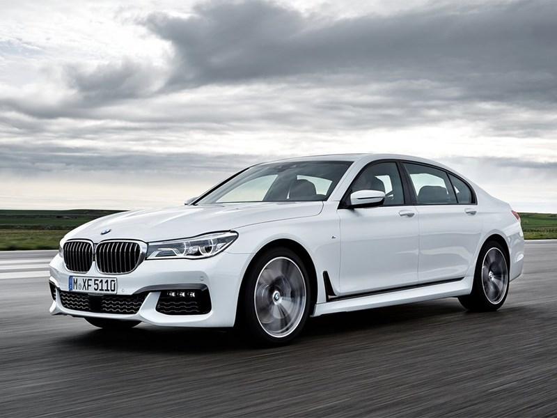 BMW 7-Series 2016 вид спереди сбоку