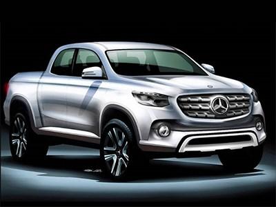 Mercedes-Benz готовится пополнить свой модельный ряд премиальным пикапом