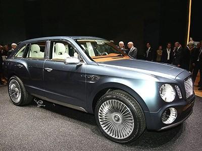 В России стартовал прием заказов на первый внедорожник марки Bentley