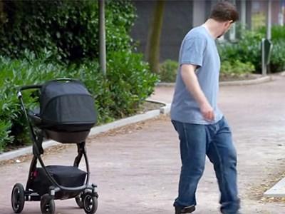 Volkswagen разработала детскую коляску с автопилотом