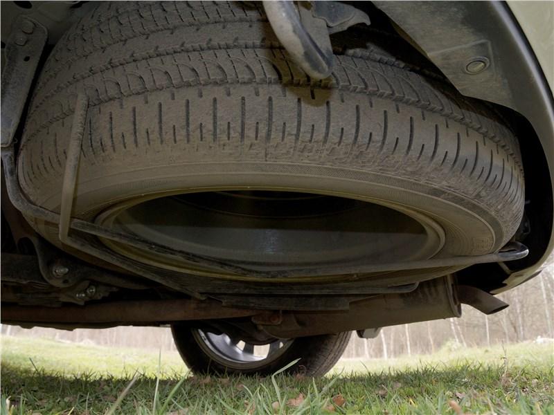 Mitsubishi Outlander 2016 запасное колесо