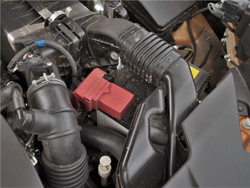 Mitsubishi ASX 2020 моторный отсек
