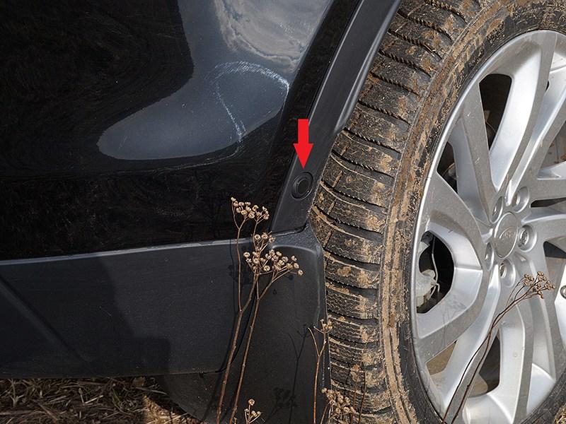 Land Rover Discovery Sport 2015 ультразвуковой датчик