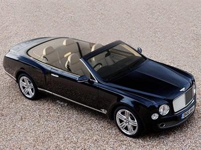 Кабриолет Bentley Mulsanne дебютирует уже в 2016 году