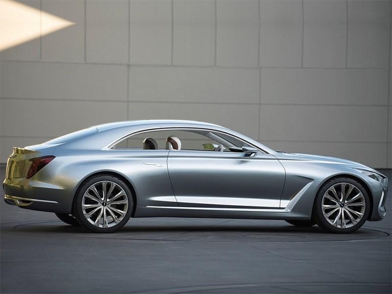 Hyundai Vision G 2015 вид сбоку